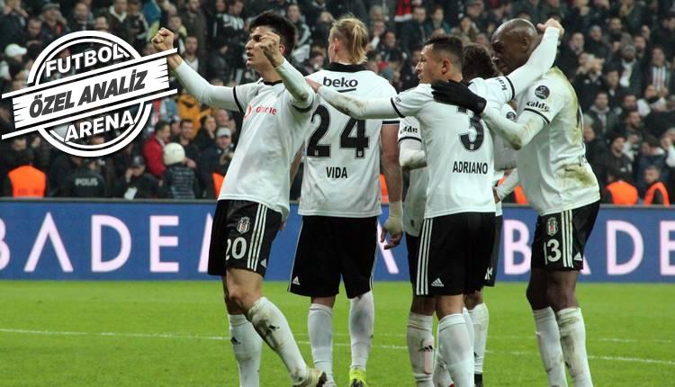 Beşiktaş istatistiklerde zirvede