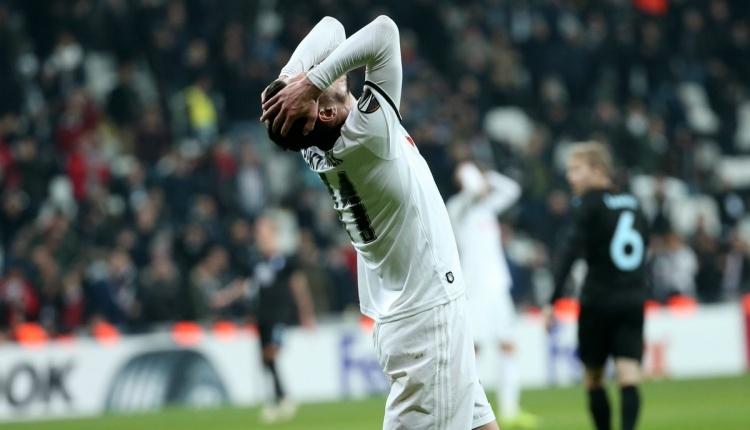 Beşiktaş, Malmö maçında bu sezon bir ilki yaşadı