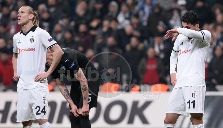 Beşiktaş, UEFA Avrupa Ligi'nden elendi