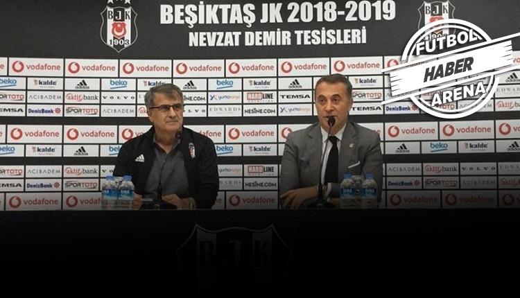 Beşiktaş'ta operasyon! Şenol Güneş ve yönetim arasındaki zirve