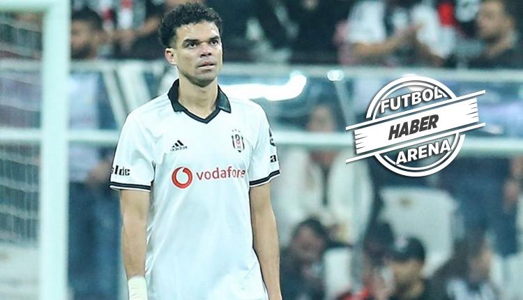 Beşiktaş'ta Pepe takımdan ayrıldı