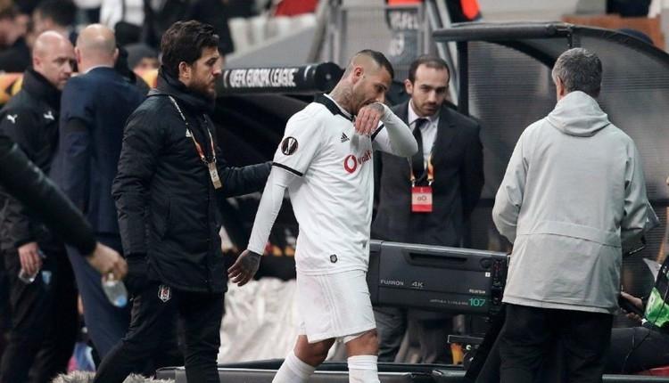 Beşiktaş'ta Quaresma taraftarlardan özür diledi