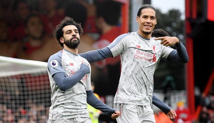 Bournemouth 0-4 Liverpool maç özeti ve golleri izle