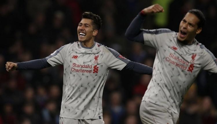 Burnley 1-3 Liverpool maç özeti ve golleri izle