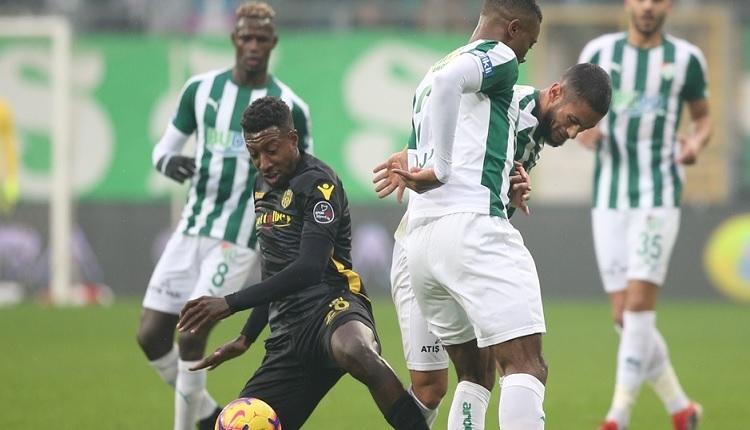 Bursaspor 1-1 Yeni Malatyaspor maç özeti ve golleri İZLE