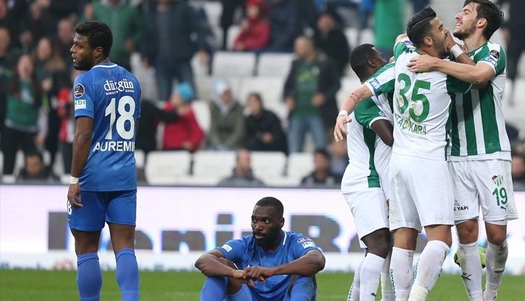 Bursaspor 2-1 BB Erzurumspor maç özeti ve golleri izle
