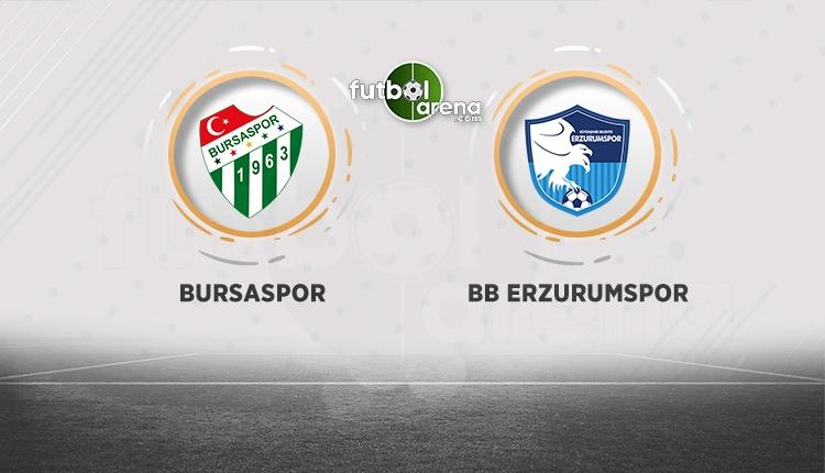 Bursaspor Erzurumspor beIN Sports canlı şifresiz izle (Bursa - Erzurum CANLI)
