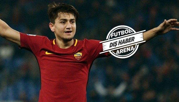Cengiz Ünder sahnede! Roma - Inter maçında attığı gol