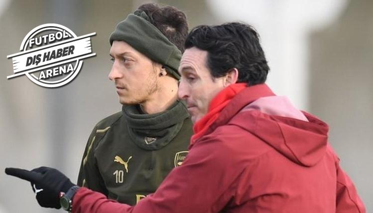 Emery'den Mesut Özil için transfer açıklaması! Sinyali verdi