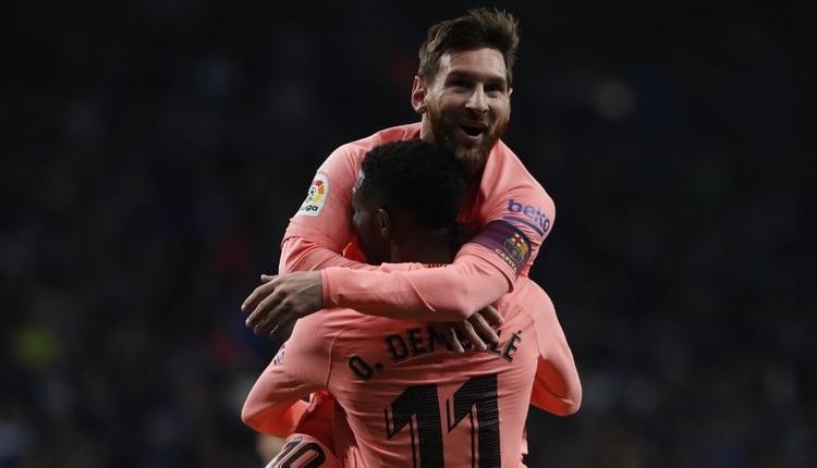 Espanyol 0-4 Barcelona maç özeti ve golleri izle