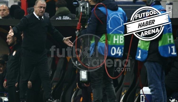 Fatih Terim'in Porto maçında kameramana tepkisi