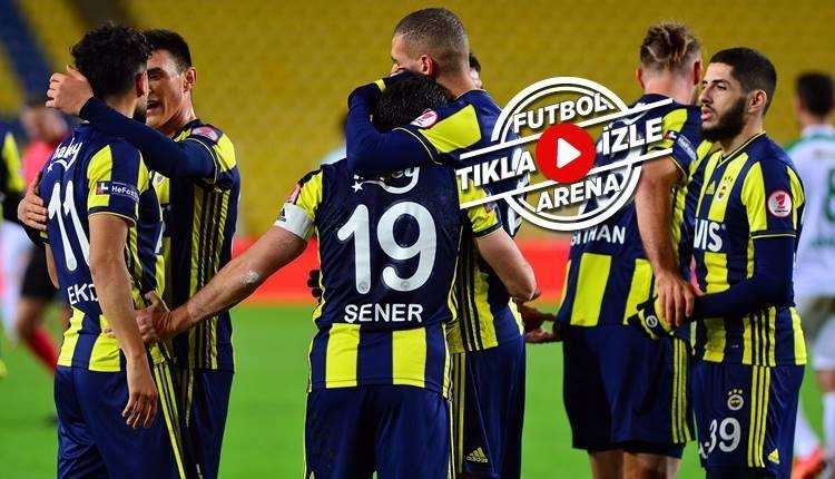 Fenerbahçe 1-0 Giresunspor maç özeti ve golü (İZLE)