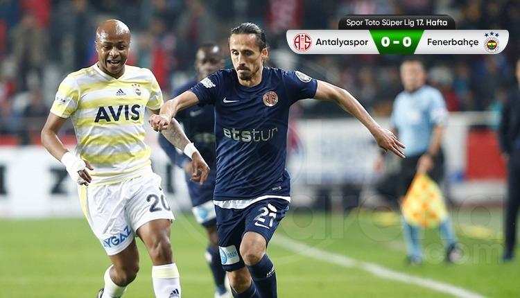 Fenerbahçe ligin ilk yarısını küme düşme hattında kapattı