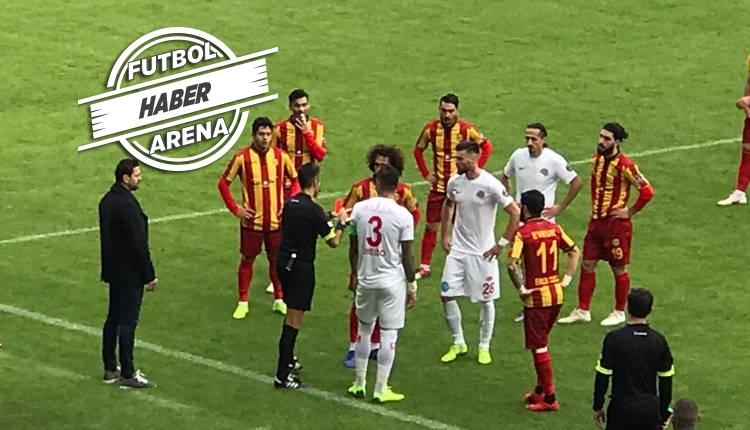 Yeni Malatyaspor - Antalyaspor maçı karıştı! Fenerbahçe'ye yaradı