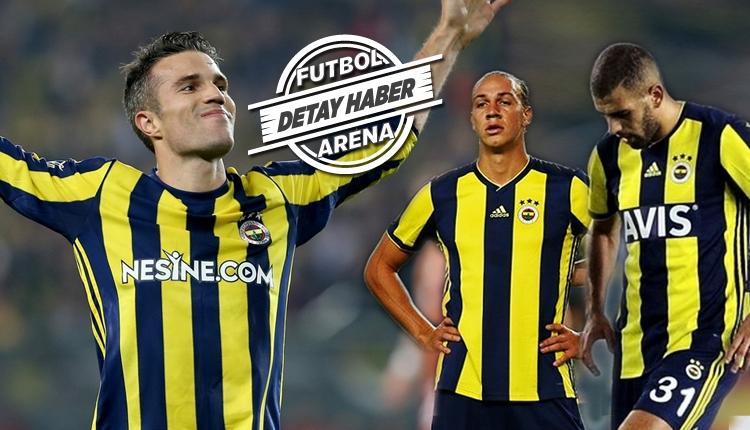 Fenerbahçe, Robin van Persie'yi bile arıyor