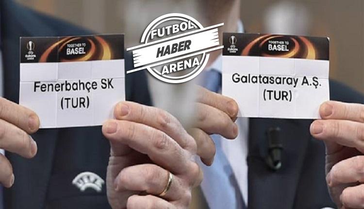Fenerbahçe ve Galatasaray'ın Avrupa Ligi muhtemel rakipleri