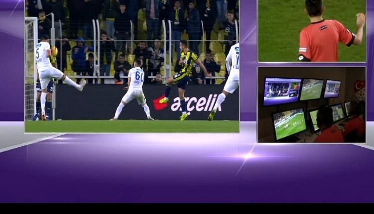 Fenerbahçeli futbolcuların VAR ve penaltı itirazı