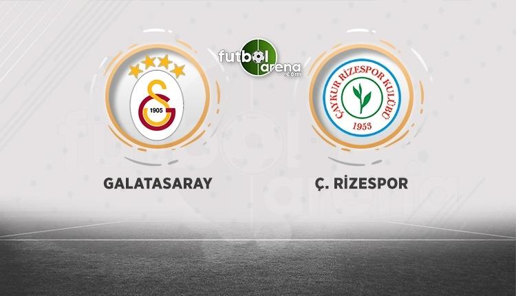 Galatasaray - Çaykur Rizespor canlı İZLE - Galatasaray - Çaykur Rizespor şifresiz izle (Galatasaray - Rize beIN Sports canlı ve şifresiz İZLE)