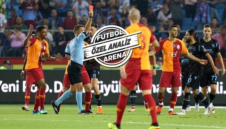 Galatasaray en az faul, en çok kart görenler arasında