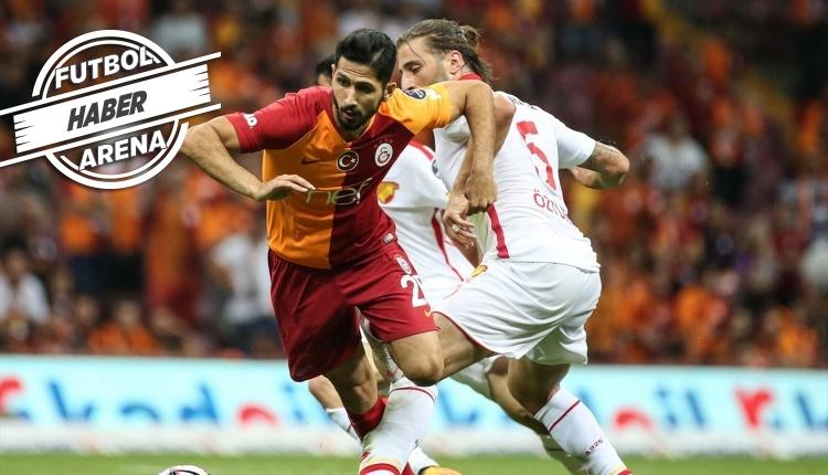 Galatasaray'da Emre Akbaba Florya'ya kapandı