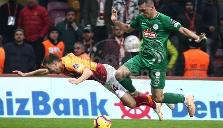 Galatasaray'dan 90. dakikada Ali Palabıyık'a penaltı isyanı
