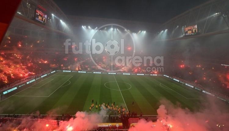 Galatasaray'dan Türk Telekom Stadı'nda dünya rekoru (40.541)