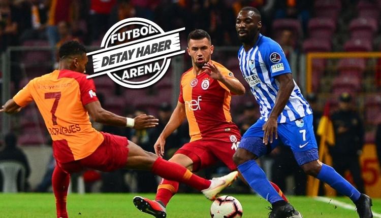 Galatasaray'dan yeni çıkan takımlara karşı etkili performans