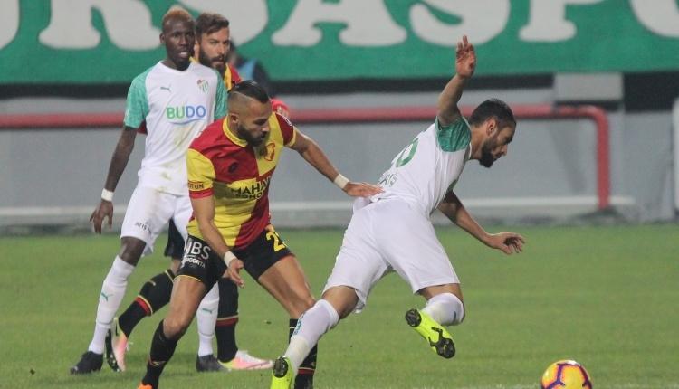 Göztepe 0-0 Bursaspor maç özeti (İZLE)