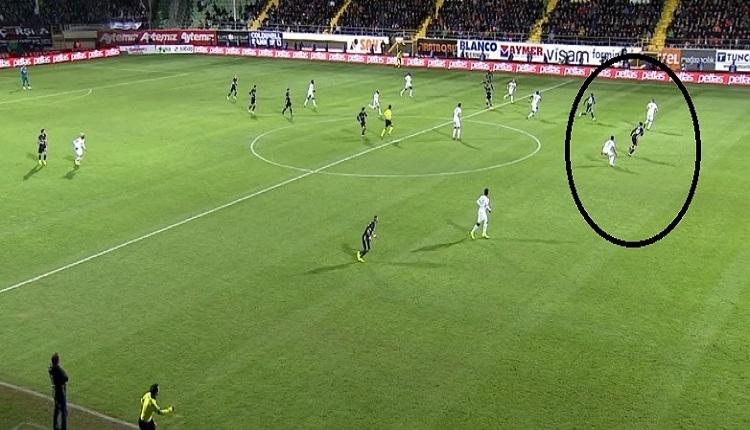 Güven Yalçın'ın Alanya'da ofsayt engeline takılan golü