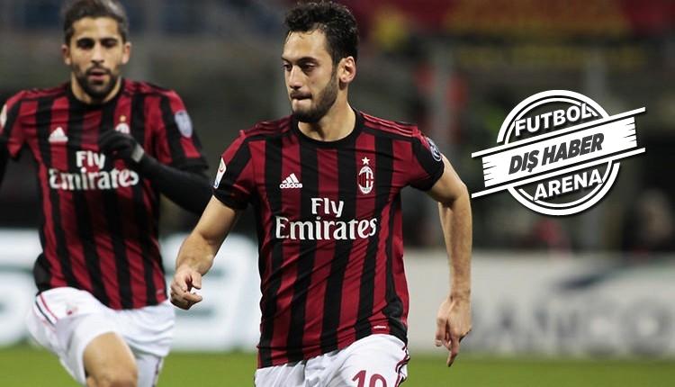 Hakan Çalhanoğlu, Milan'dan ayrılacak mı?
