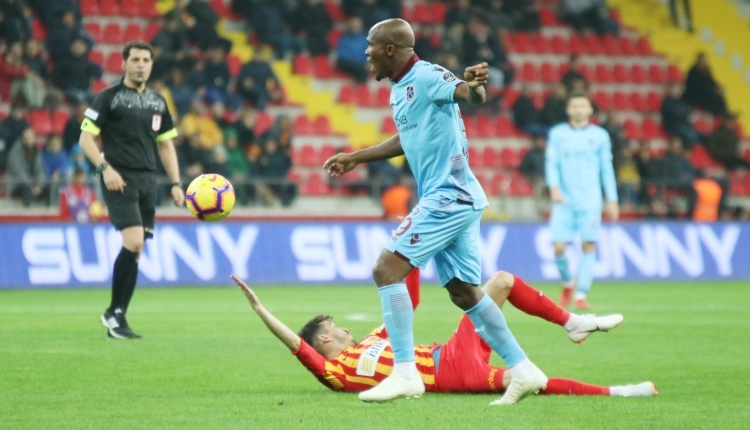 Kayserispor 0-2 Trabzonspor maç özeti ve golleri (İZLE)