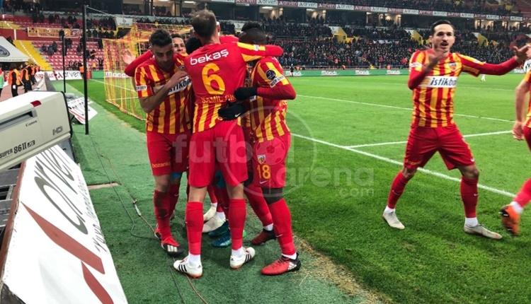 Kayserispor 1 - 0 Akhisarspor maçının özeti ve golleri (İZLE)
