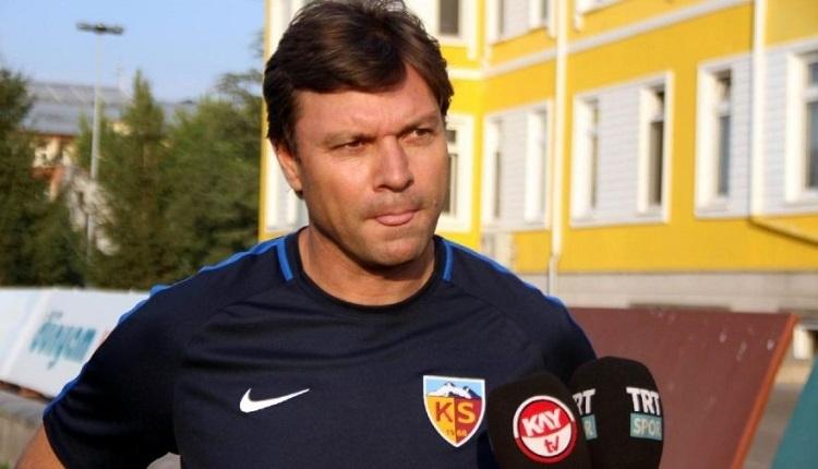 Kayserispor'da Ertuğrul Sağlam istifa etti