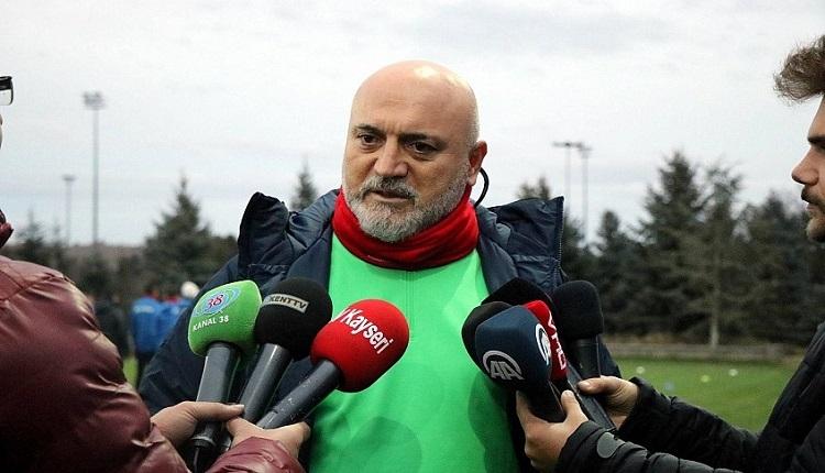 Kayserispor'da Hikmet Karaman'dan zehir zemberek açıklama