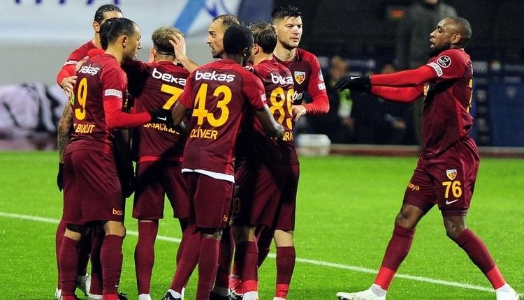 Kayserispor'un ilk yarı karnesi