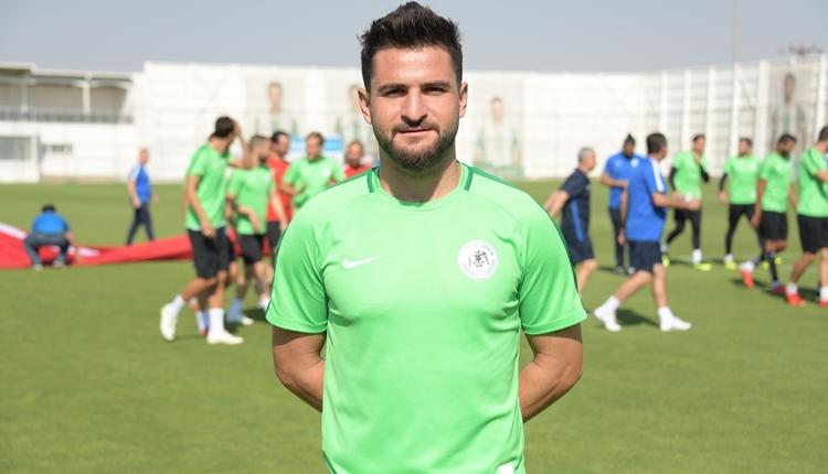 Konyasporlu Ömer Ali Şahiner'den transfer açıklaması!