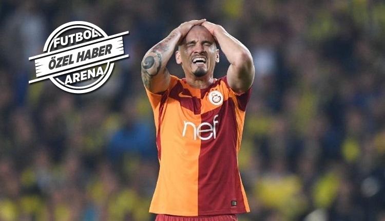 Maicon'un menajeri kulüp arıyor! Galatasaray'da ayrılık