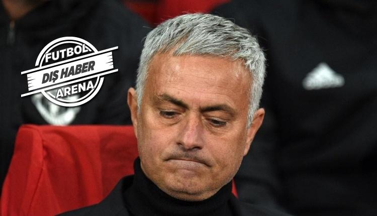 Manchester United'ta Jose Mourinho dönemi sona erdi