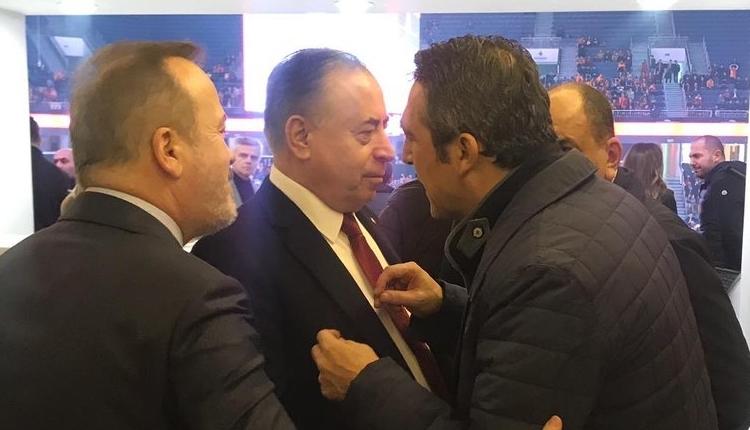 Mustafa Cengiz ile Ali Koç buluştu! Burak Elmas'tan sert tepki
