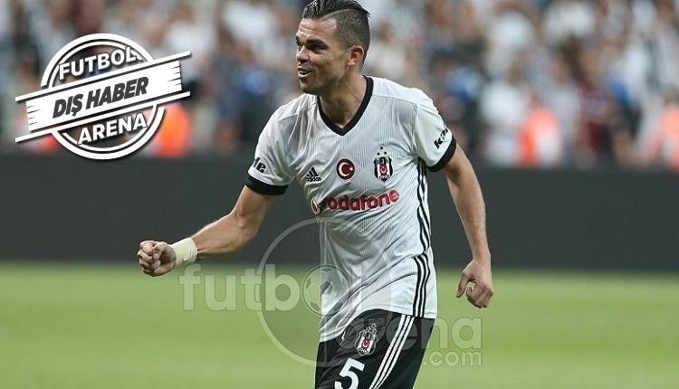 Pepe, Monaco'ya kapıları kapadı
