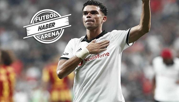 Pepe resmen Beşiktaş'tan ayrıldı! 'Sizleri unutmayacağım'