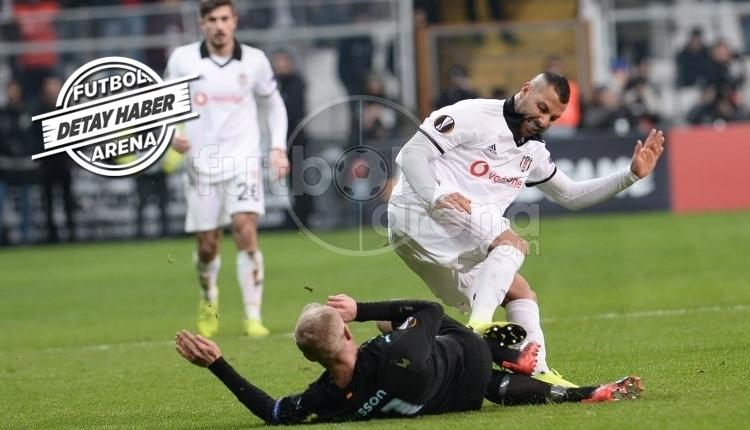 Ricardo Quaresma, Beşiktaş'ta kırmızı kart patlaması yaşadı