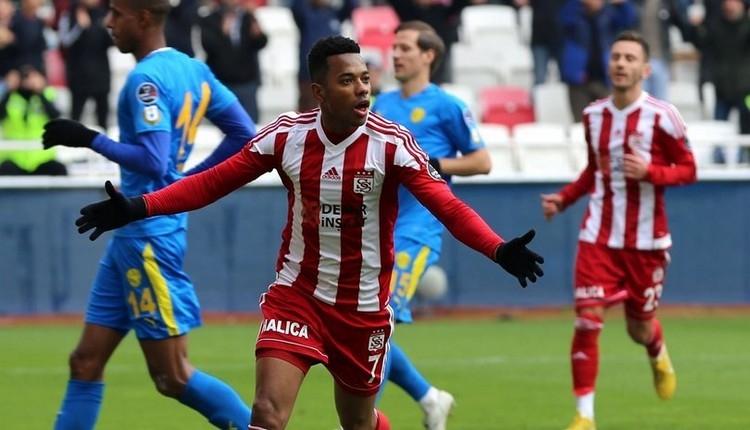 Sivasspor'da Robinho fark yarattı