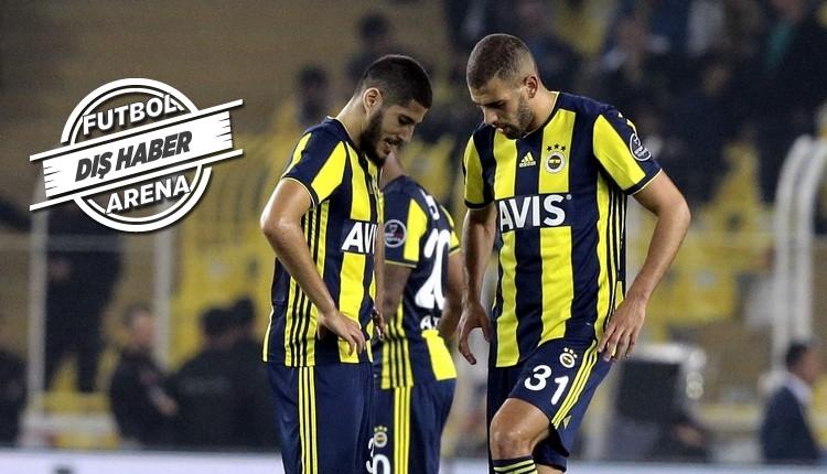 Slimani ve Benzia, Fenerbahçe'de dibe vurdu