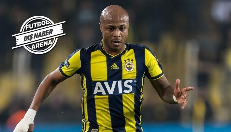 Swansea City'den Fenerbahçe'ye Andre Ayew için transfer mesajı