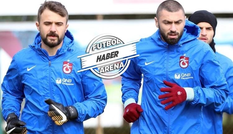 Trabzonspor'da Burak Yılmaz ve Onur Kıvrak'tan flaş karar