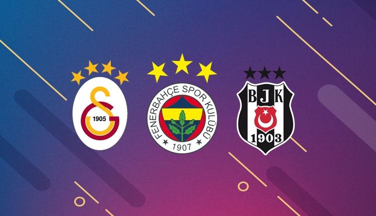 Üç büyükler Türk futbol tarihine geçmek üzere!