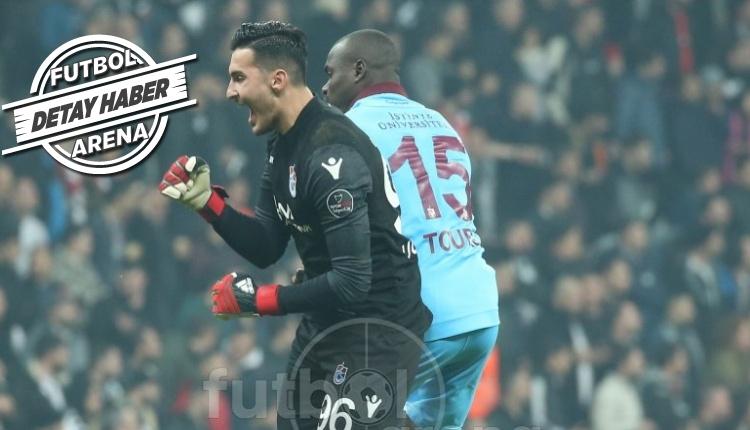Uğurcan Çakır'ın Beşiktaş maçı performansı geceye damga vurdu