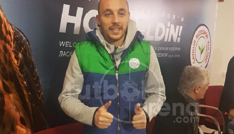 Aatif'tan Çaykur Rizespor imza töreninde Fenerbahçe itirafı
