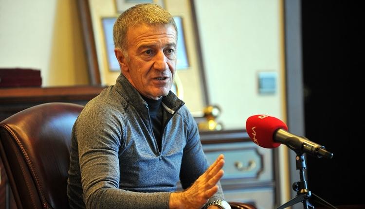 Ahmet Ağaoğlu'dan Trabzonspor taraftarına transfer mesajı! 'O dönem kapandı'